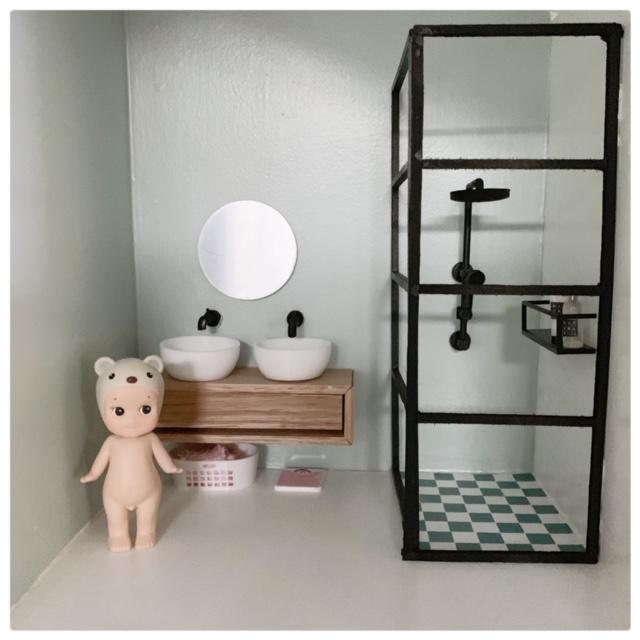 Badkamer | sticker | Tegels | verspringend