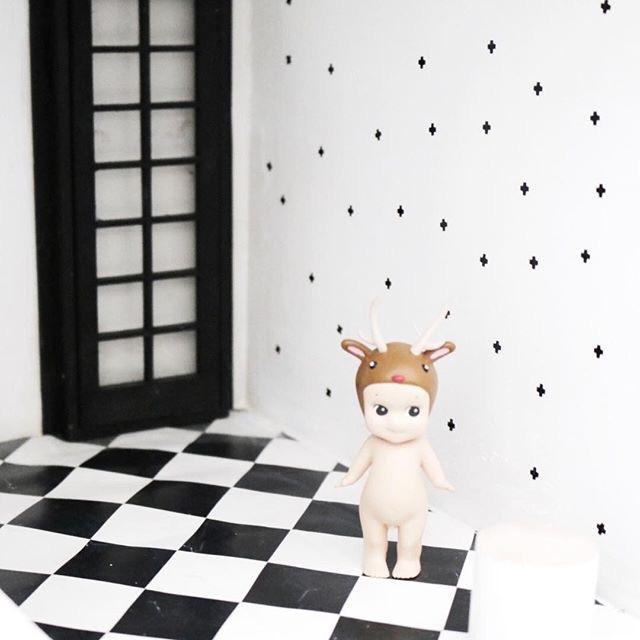 Algemeen | Dollhouse muurstickers | plusjes