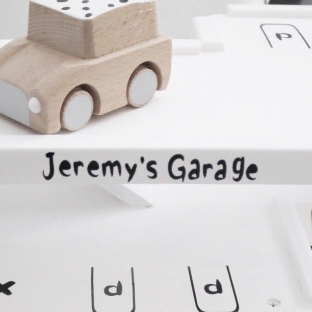 DIY Garage | Naam naar wens