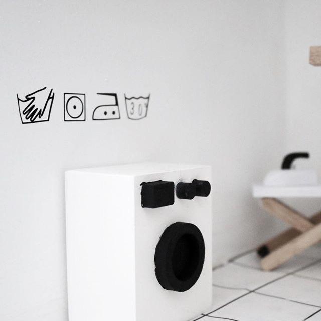 Badkamer | Sticker | Laundry + wastekens