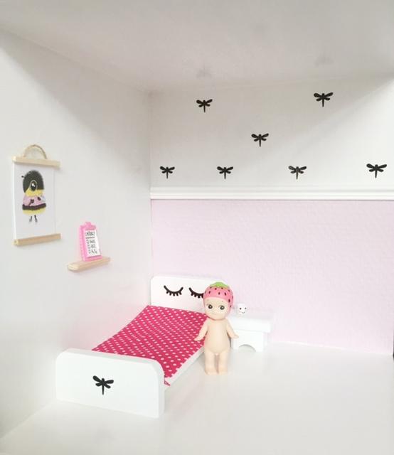 Slaapkamer | Mini stickers | libelle