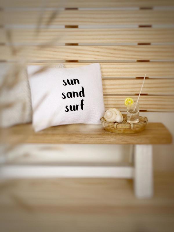 Textiel | kussens | 4 x 5 cm | sun sand surf.