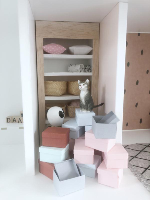Slaapkamer | opbergbox | roze