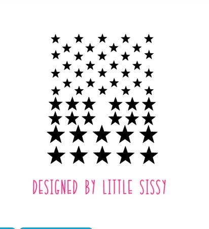 Slaapkamer | Mini stickers | sterren