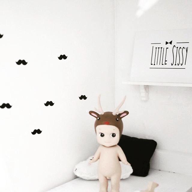 Slaapkamer   Mini stickers   snorren