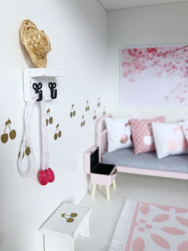 Slaapkamer   Mini sticker   Cherries