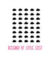 Slaapkamer | Mini stickers | wolken