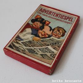 advertentiespel (jaren '30)