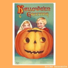 kaart Halloween Greeting