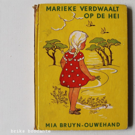 Marieke verdwaalt op de hei