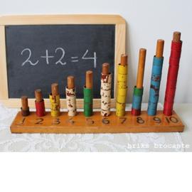 oud lesmateriaal - leren tellen