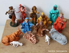 oude figuren voor kerststal