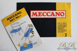set Meccano & voorbeeldboekjes