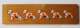 Simplex knopjespuzzel honden