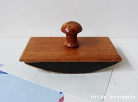 houten blotter  - inktdepper