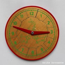 Simplex puzzel klok