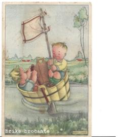 kaart kinderen - tobbe