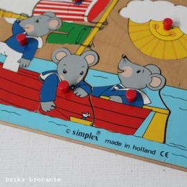 Simplex knopjespuzzel muizen
