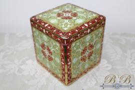 blikje vierkant rood-groen