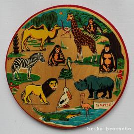 Simplex puzzel Afrika