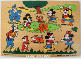 Simplex - Walt Disney knopjespuzzel