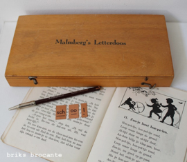 Malmberg's letterdoos - hout
