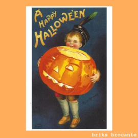 kaart A Happy Halloween