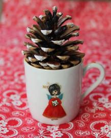 kerst kinderservies Bavaria