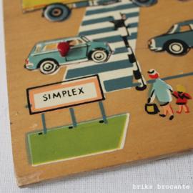Simplex knopjespuzzel voertuigen