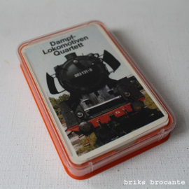 Dampf Lokomotiven Quartett