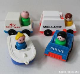 Fisher Price set voertuigen & poppetjes