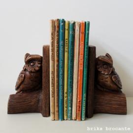 set boekensteunen - uil