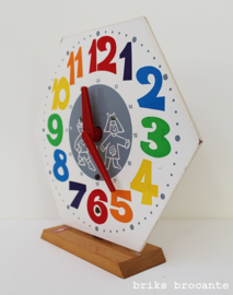 SIO klok - zeskantig