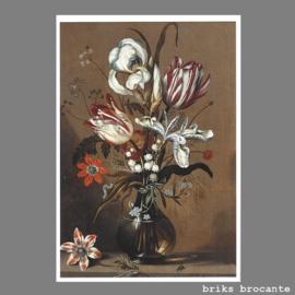 kaart bloemstilleven
