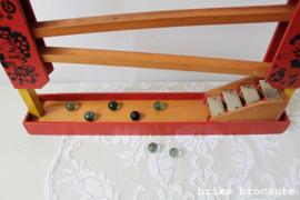 houten knikkerbaan