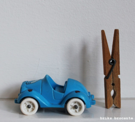 Viking Plast autootje smurf