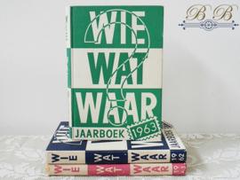 Wie Wat Waar jaarboek 1961
