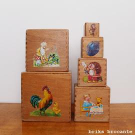 stapelblokken hout