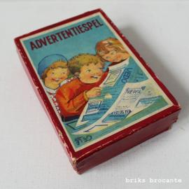 advertentiespel - jaren '30/'40