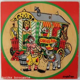 Simplex knopjespuzzel Pipo de Clown