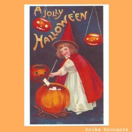 kaart A Jolly Halloween