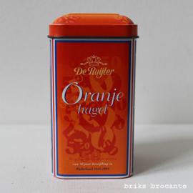 blikje De Ruijter Oranje hagel
