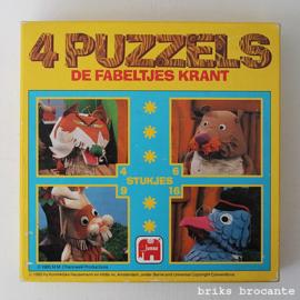 4 puzzels de Fabeltjeskrant