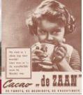 blik cacao De Zaan - poezen