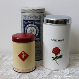 beschuitblik Brabantia - roos