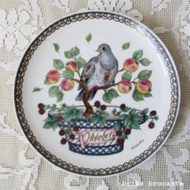 bord Hutschenreuter Oktober - duif