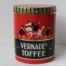 blik Verkade's toffee