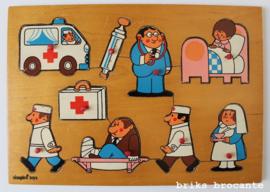 Simplex knopjespuzzel ziekenhuis