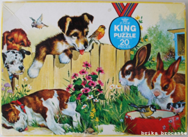puzzel Junior King - dieren