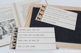 7 x klassikale leskaart Wolters